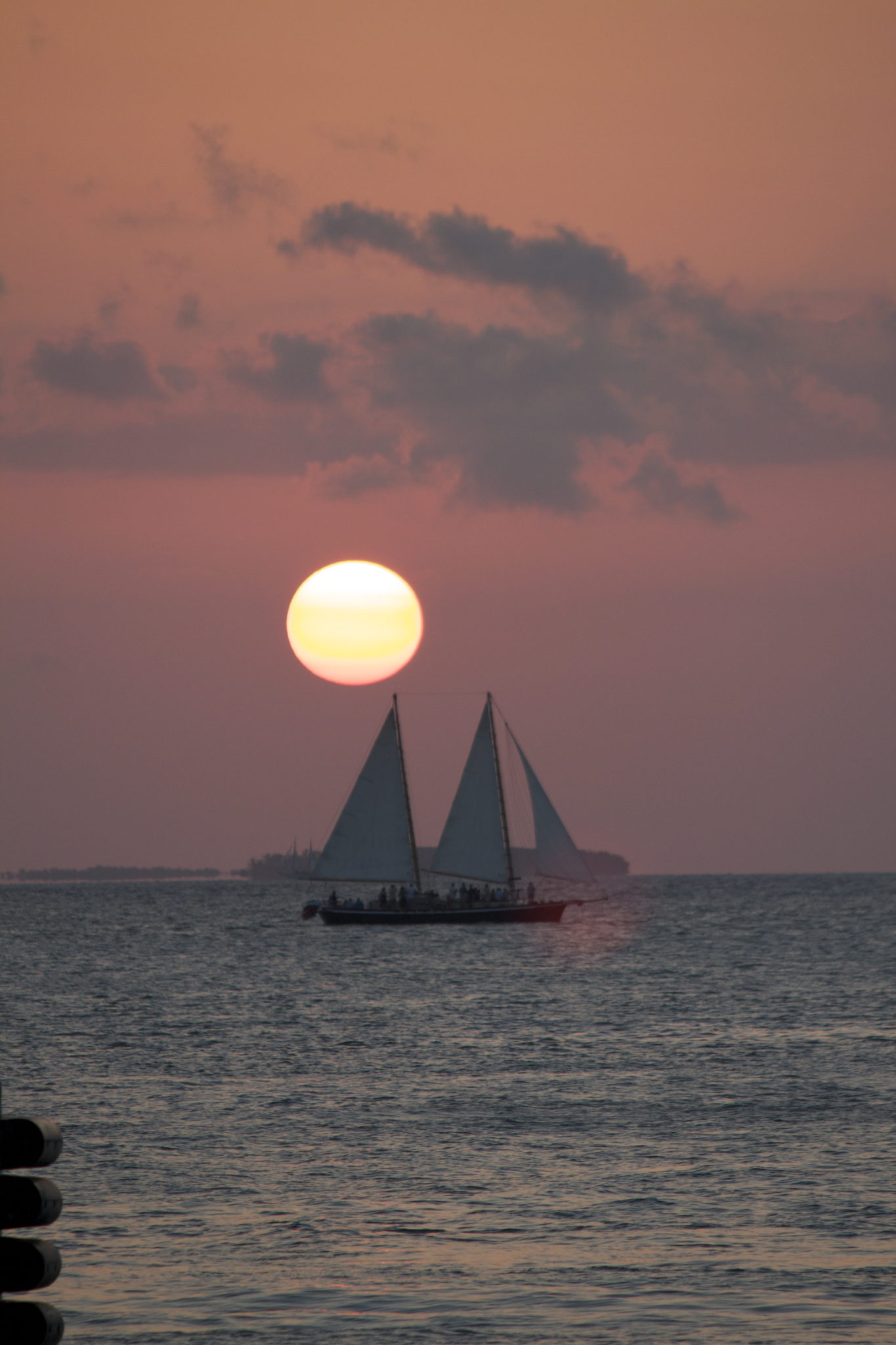 Sunset in Key West, FL
