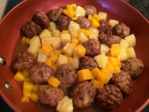 Tropical Meatball Recipe
