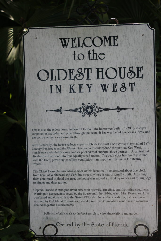Oldest House, Key West