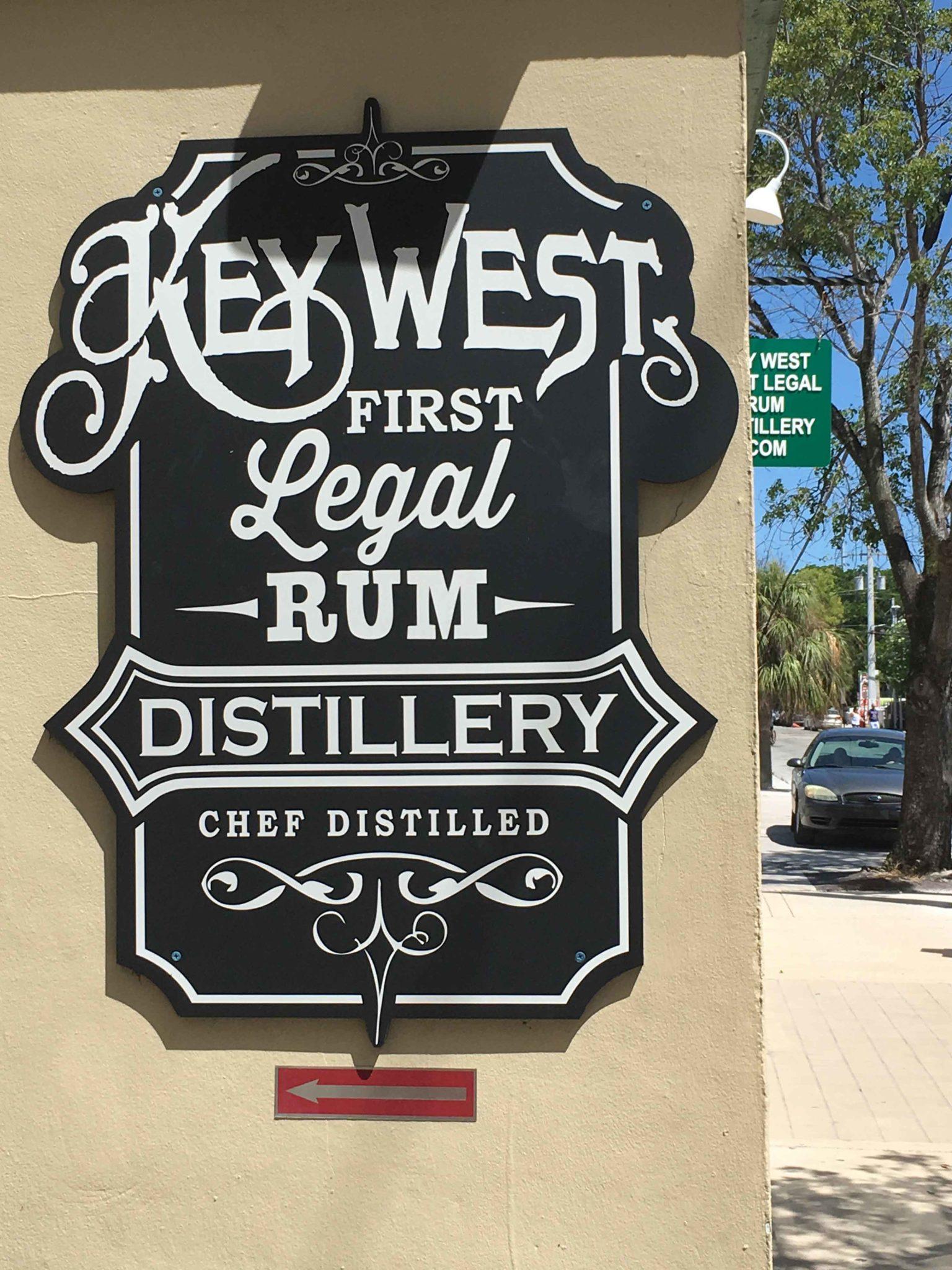 key west legal rum