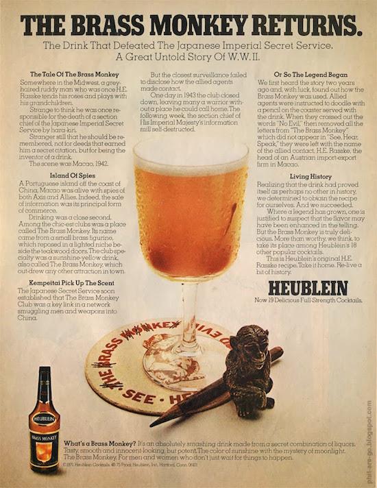 brass monkey drink recipe